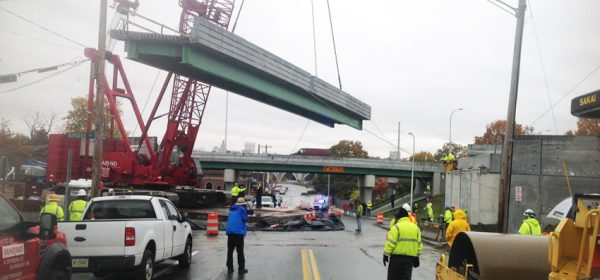RIDOT 2014-DB-004 Warren Ave Ramp Bridge Reconstruction